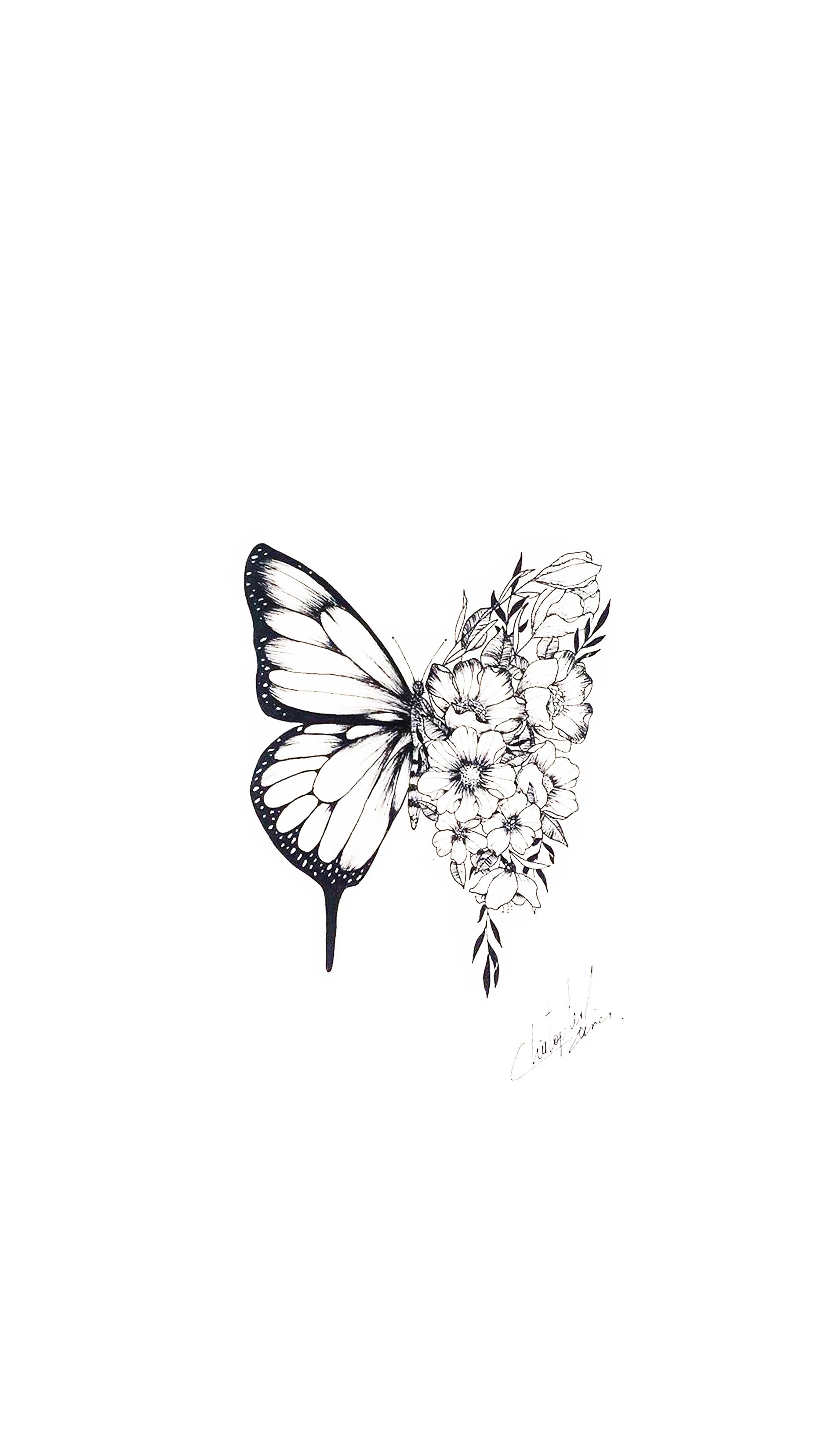 Photo of shawn mendes butterfly tattoo