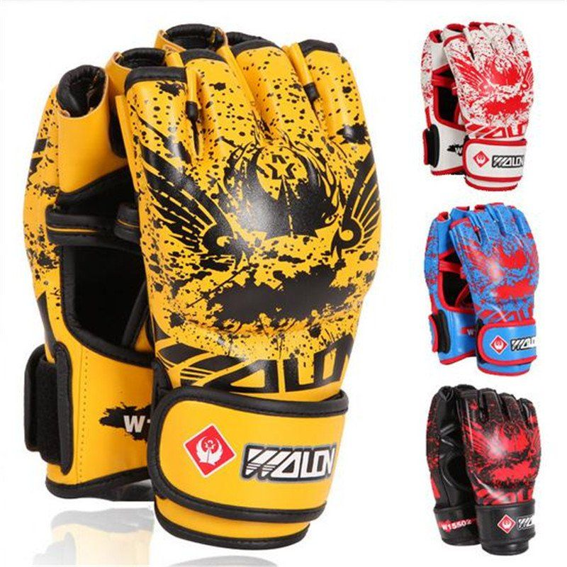 FREE SHIPPING Half finger boxing gloves