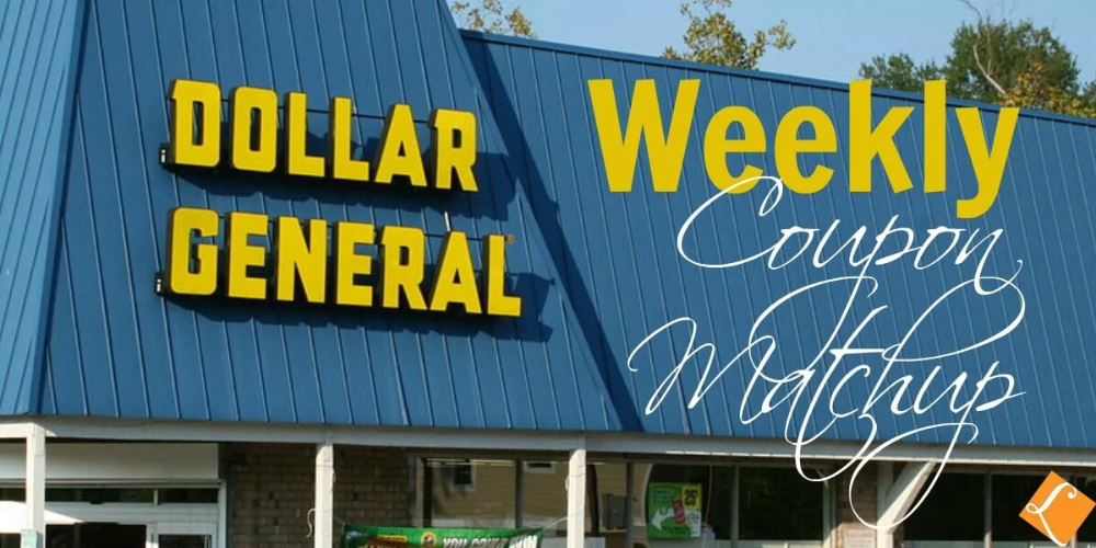 New Dollar General Match Ups That Will Help you Save Big