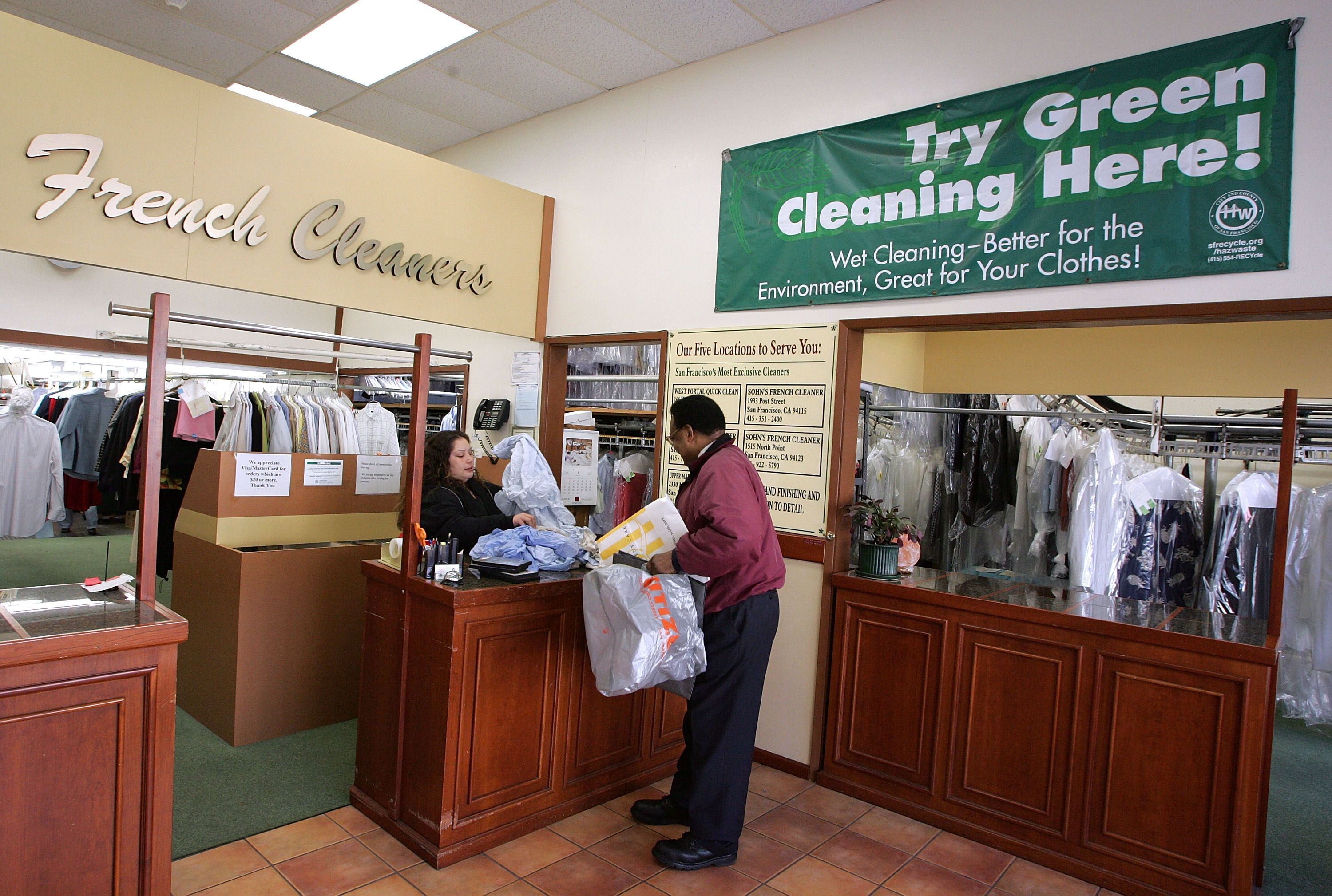 What Is Green Dry Cleaning Dry Cleaning Business What Is Green Dry Cleaning