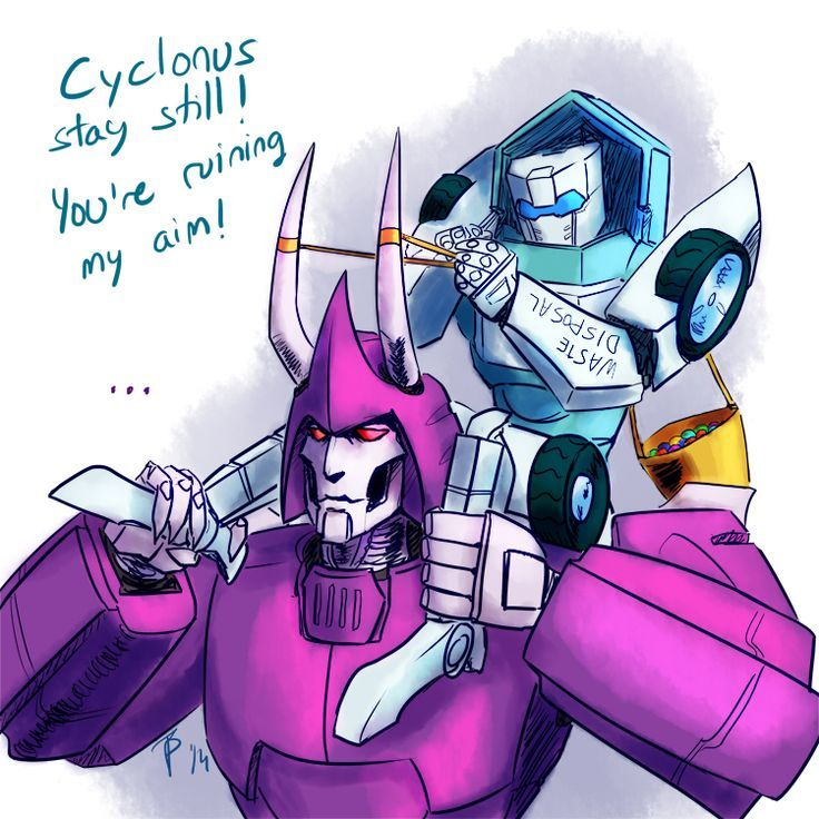 Image result for mtmte tailgate and cyclonus | transformers
