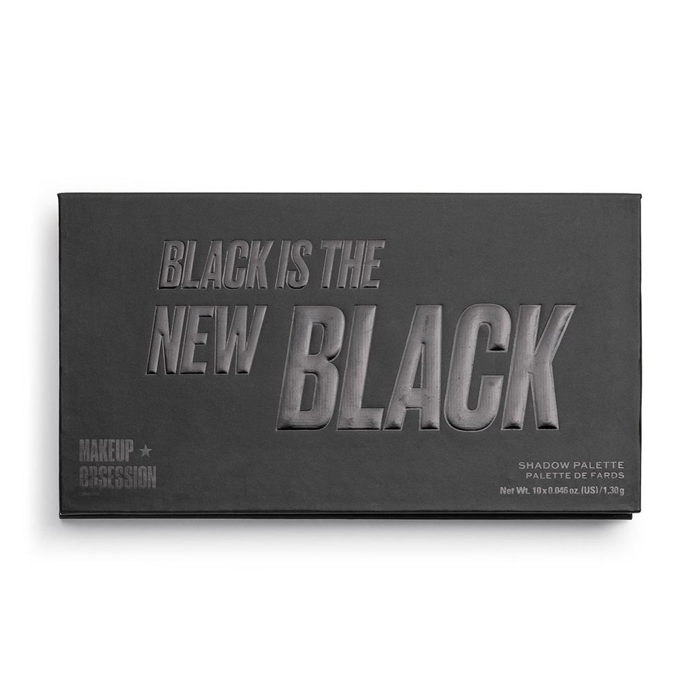 Makeup Obsession Black Is The New Black Eyeshadow Palette Makeup Obsession Black Eyeshadow Shadow Palette