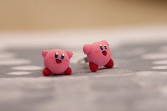 Kirby Earrings by lizglizz on Etsy