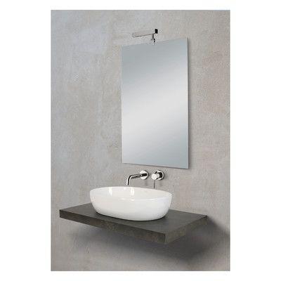 bagno-top per lavabo d'appoggio plan 6 x 90 x 51 cm-33892201 ... - Lavabo Per Top