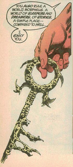 chave do inferno - sandman