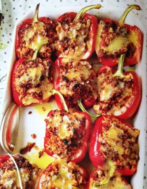 The News Journal Food Drink Section Stuffed Peppers Food Trisha Yearwood Recipes