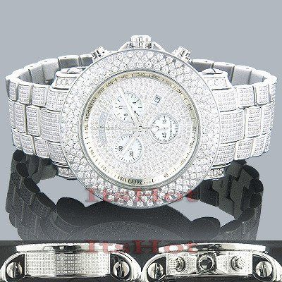 Joe rodeo junior fully iced out diamond watch 21ct rodeo diamond joe rodeo junior fully iced out diamond watch 21ct aloadofball Images