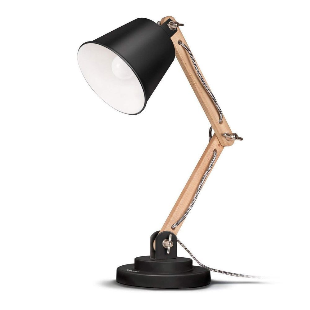 Icymi Tomons Desk Lamp Natural Wood Table Lamp Reading Lights With 4w Led Bulb Fo 44 36 End Date Sunda With Images Scandinavian Desk Lamp Desk Lamp Wood Desk Lamp