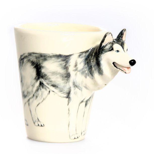 Siberian Husky Mug design inspiration on Fab.