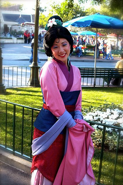 Some day I'll meet you Mulan...some day