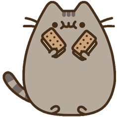 Ice Cream Cat Sticker by Pusheen for iOS & Android | GIPHY