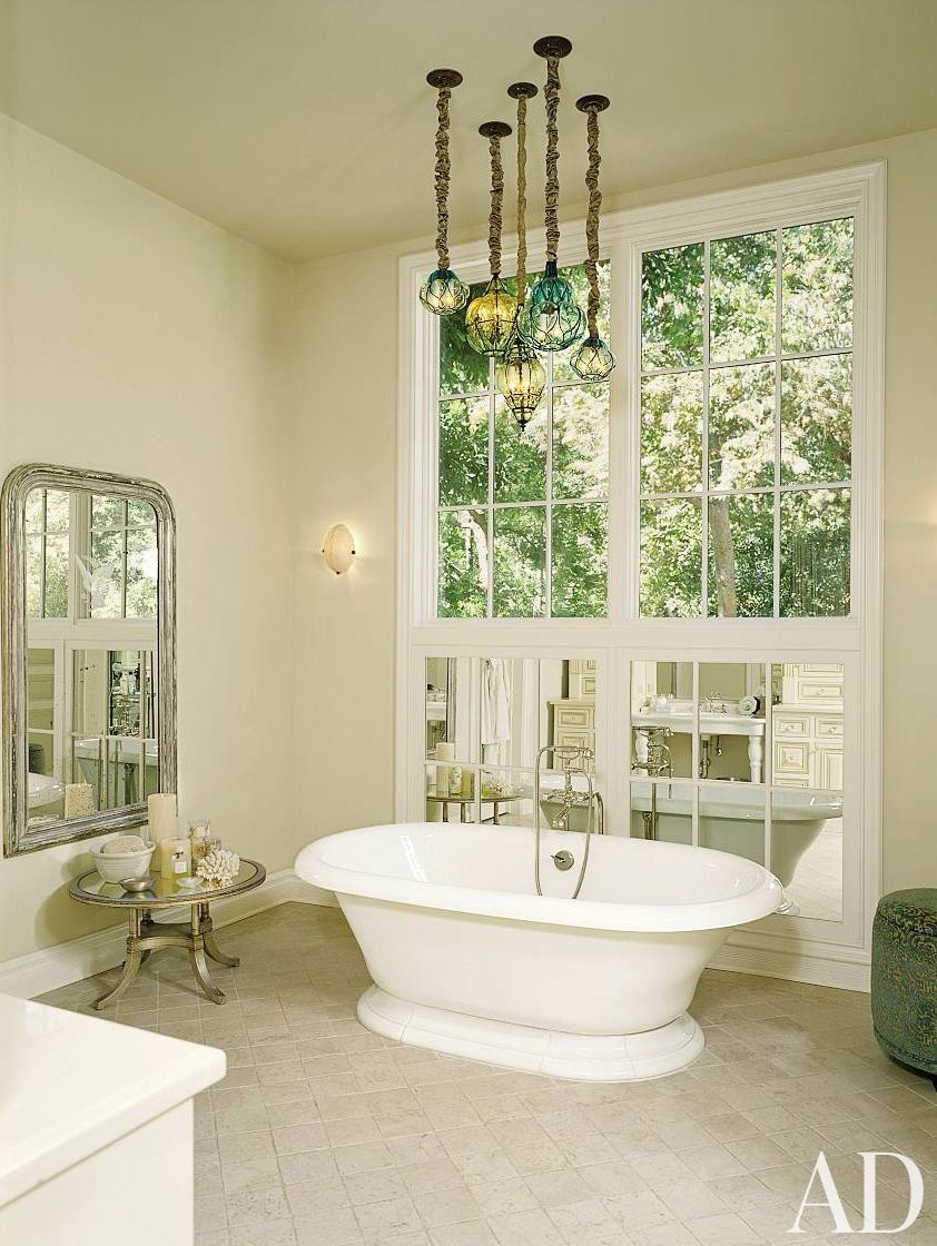 Traditional Bathroom by Everage Design, Inc. in Los Angeles ...