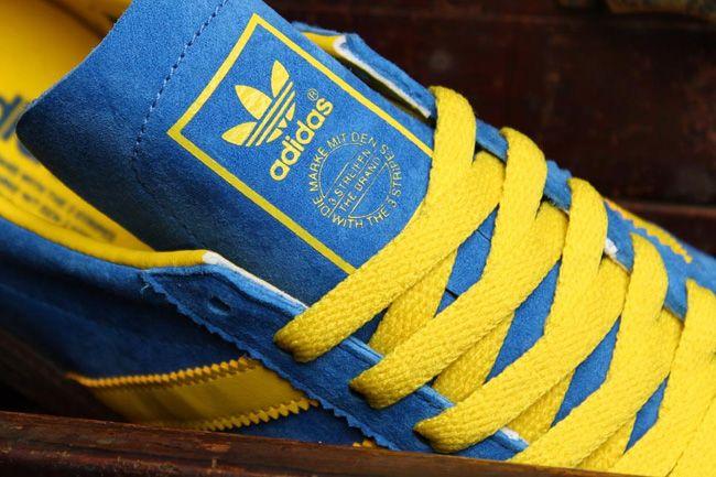 Adidas Originals AC AC AC (Baltic Cup) Satellite Azul / amarillo sol ac6098