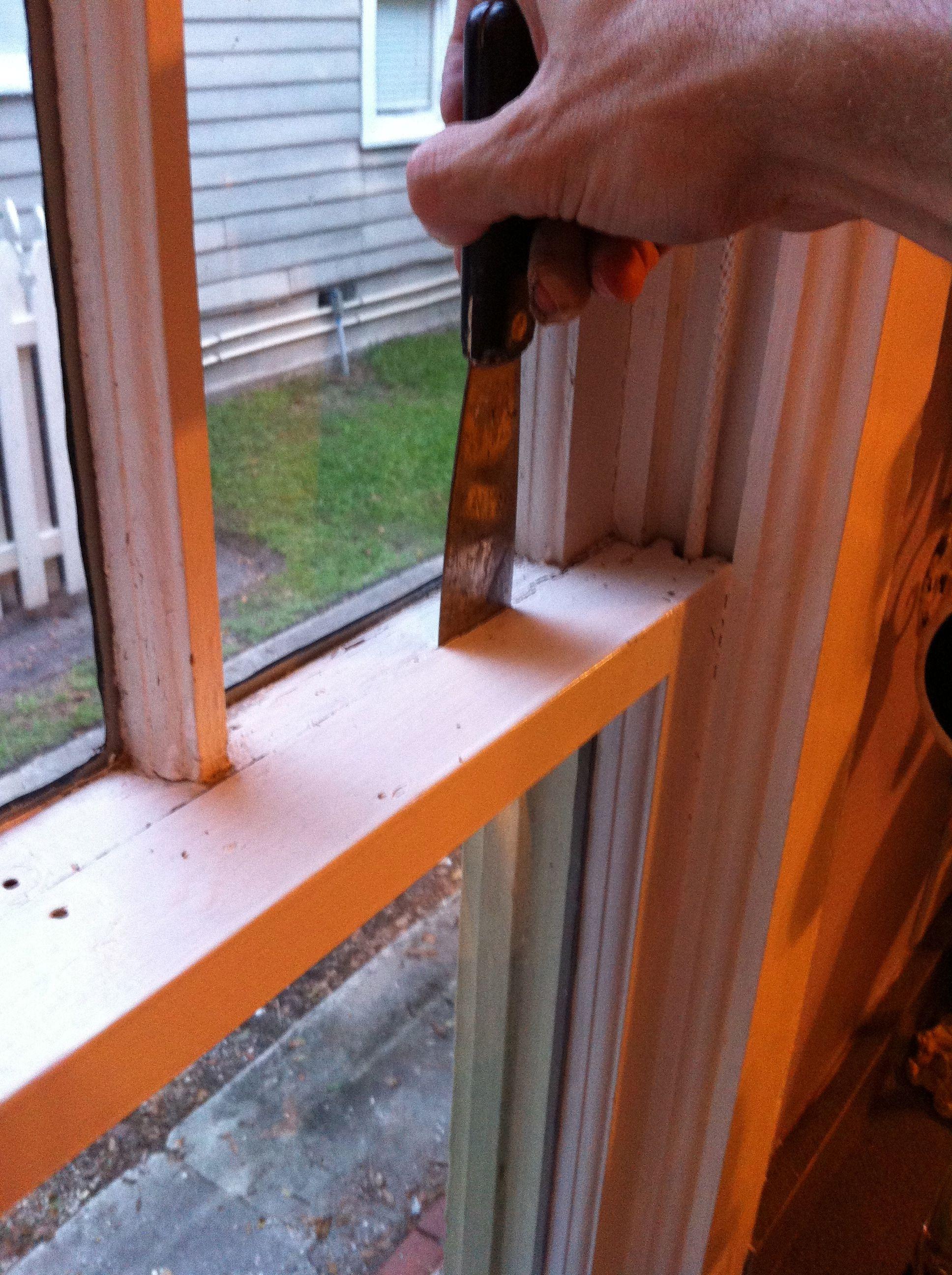 4 Steps To Open Stuck Windows Old Wood Windows Windows Window Repair