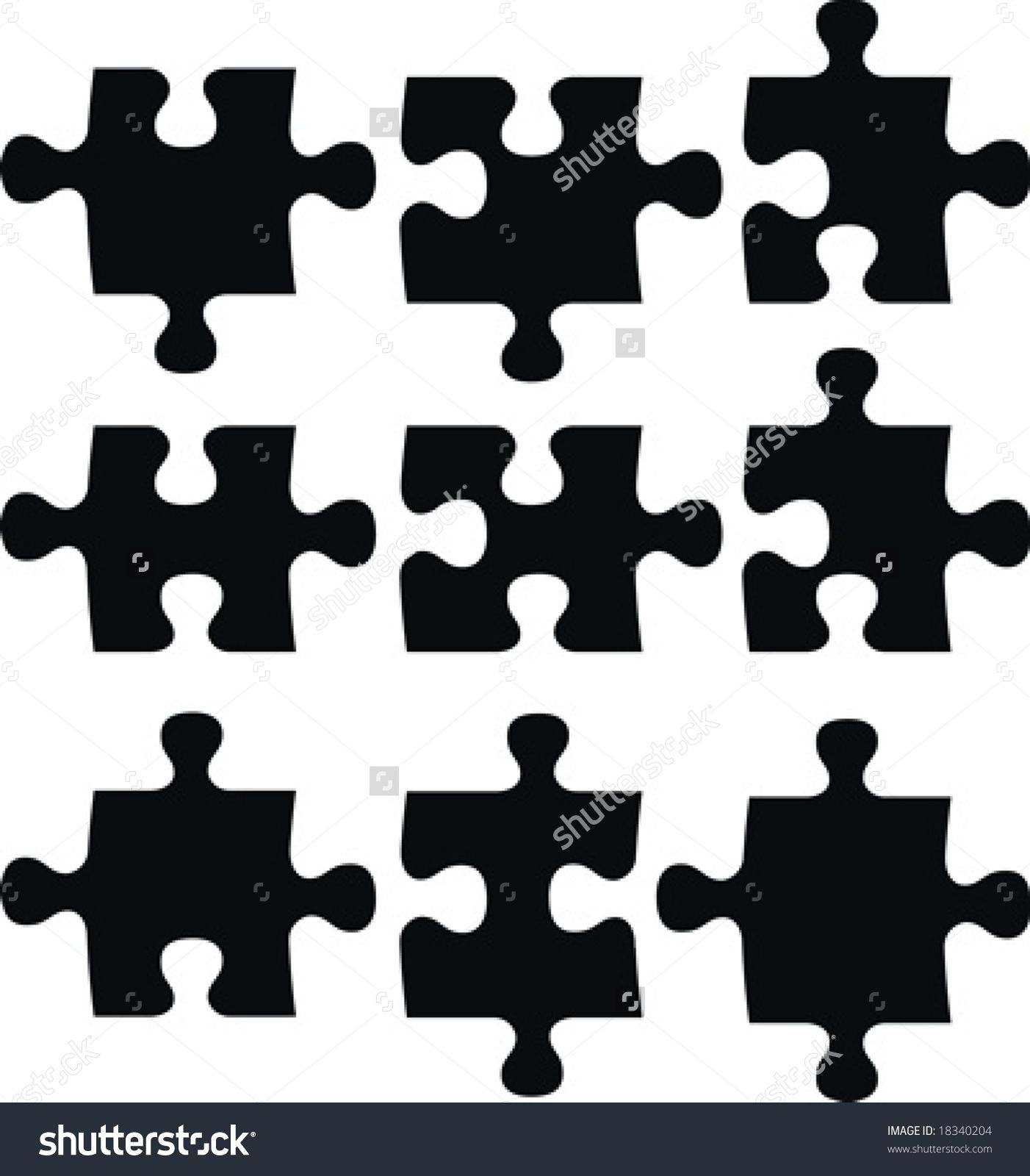 17 Best images about Puzzle Pieces on Pinterest | Teaching, Clip ...
