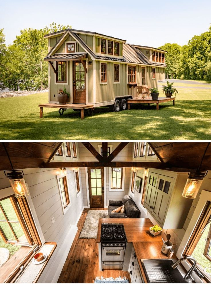 The Denali tiny house on wheels design ideas by Timbercraft Tiny Homes