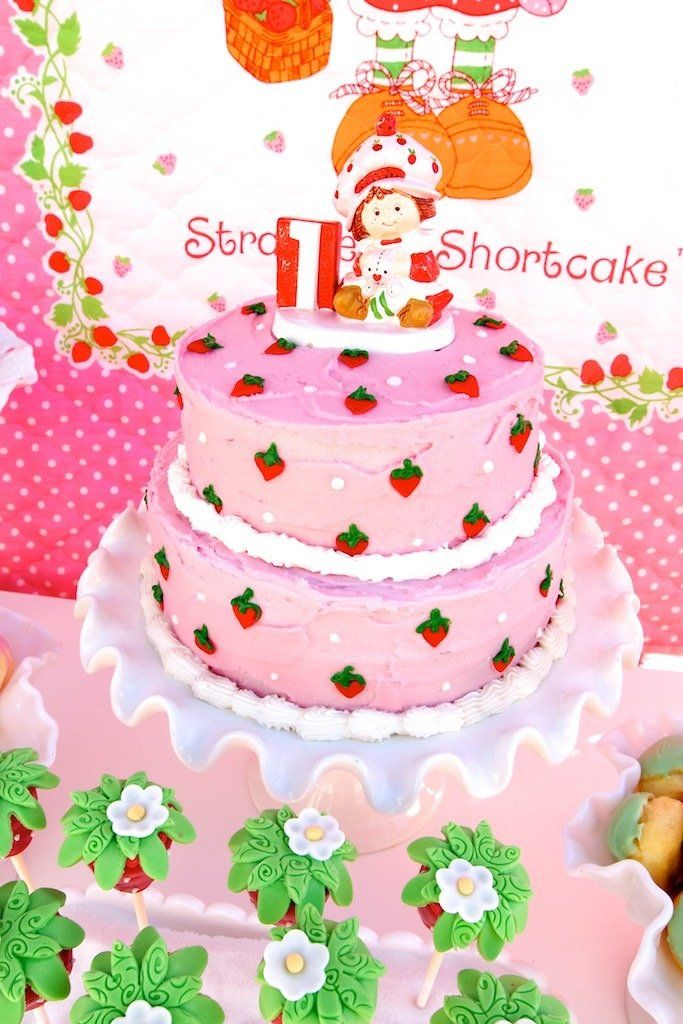 Vintage Strawberry Shortcake Birthday Party With Images