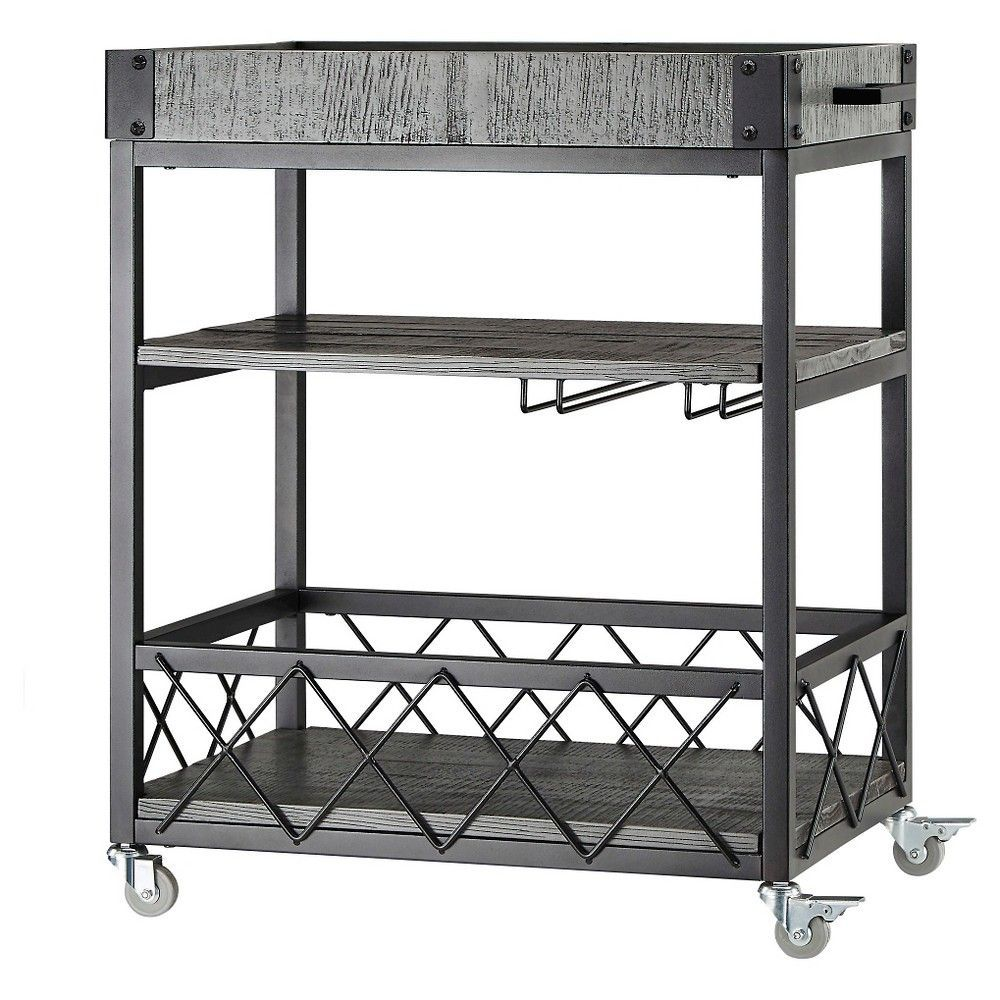 Ronay Bar Cart - Inspire Q, Gray | Bar carts