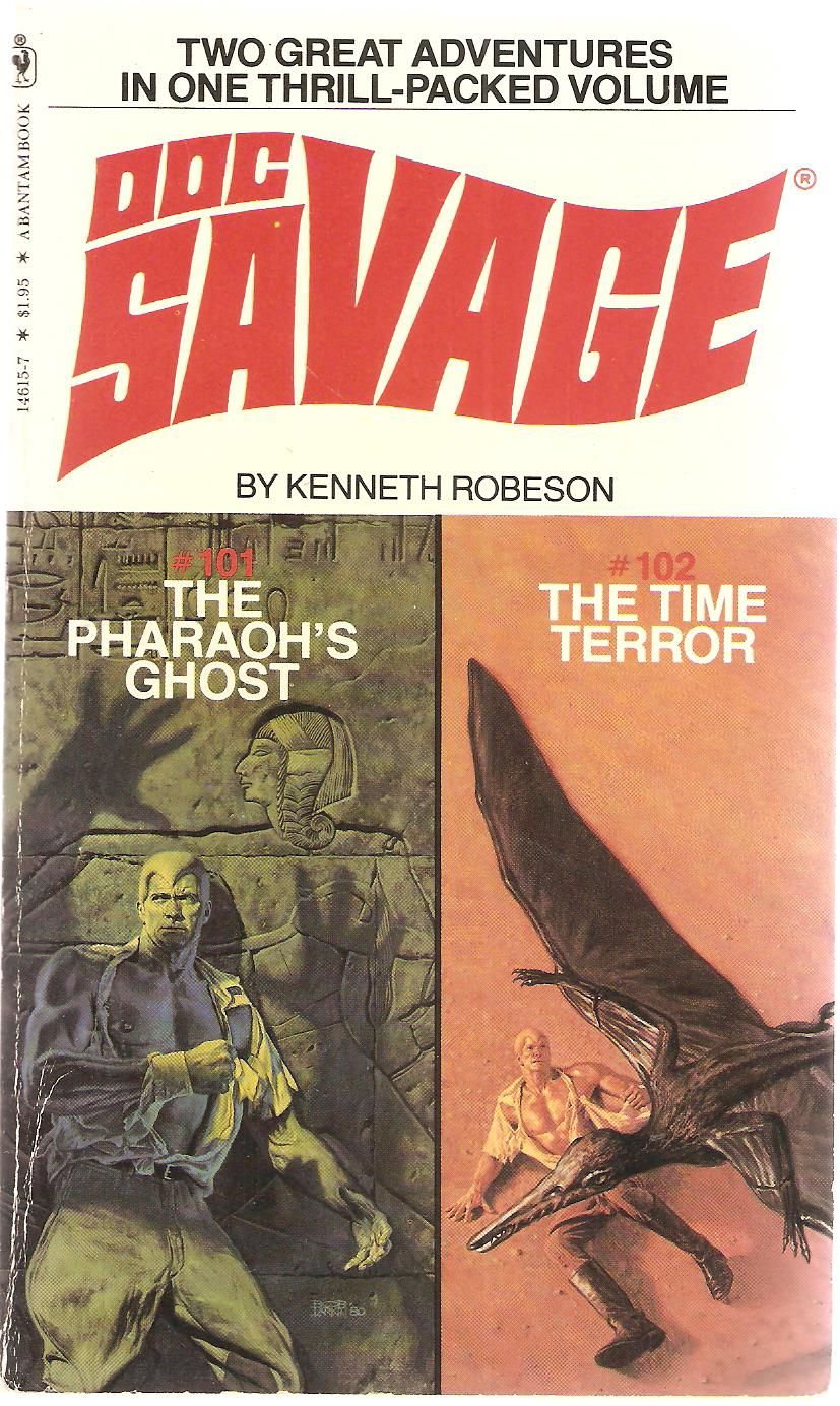 The pharaohs ghost doc savage 101 original issue june 1944 and doc savage 101 original issue june 1944 and the fandeluxe Images