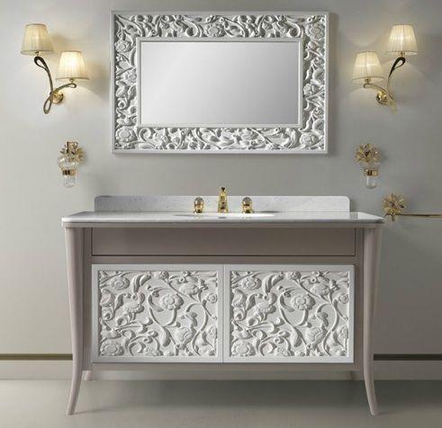 Accessori Bagno Etrusca.Arredo Bagno Retro 3d Panel Decor Bathroom Mirror Design
