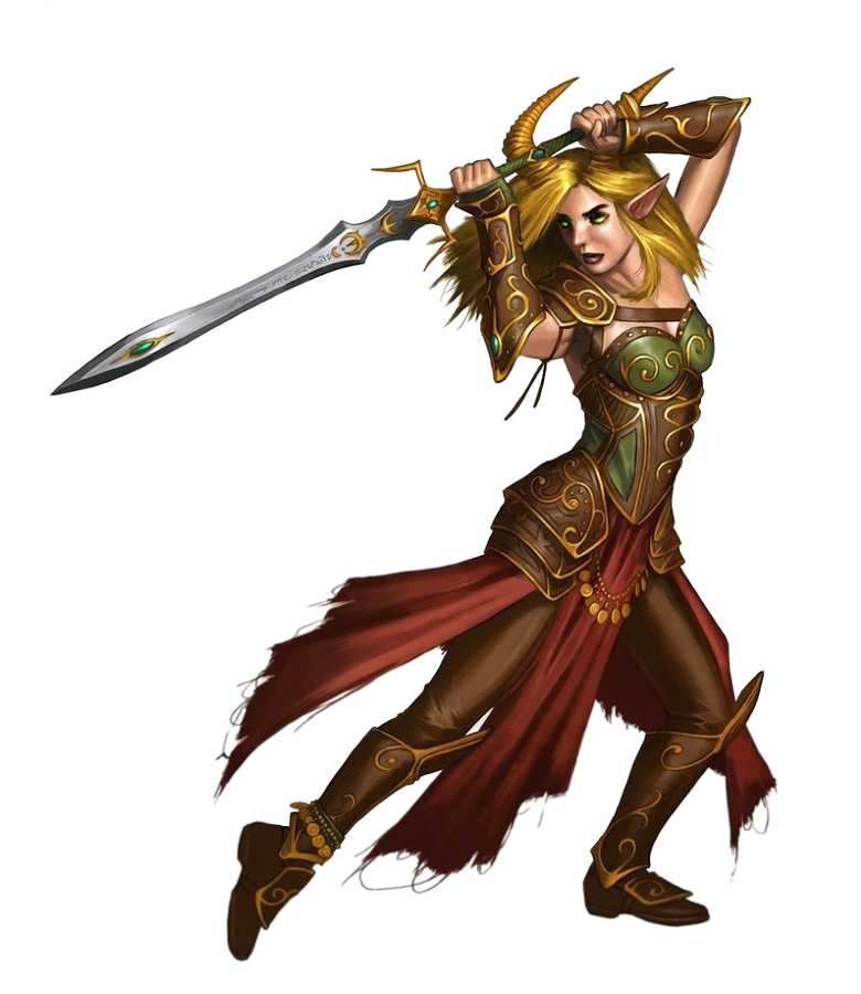 Female Tiefling Fighter