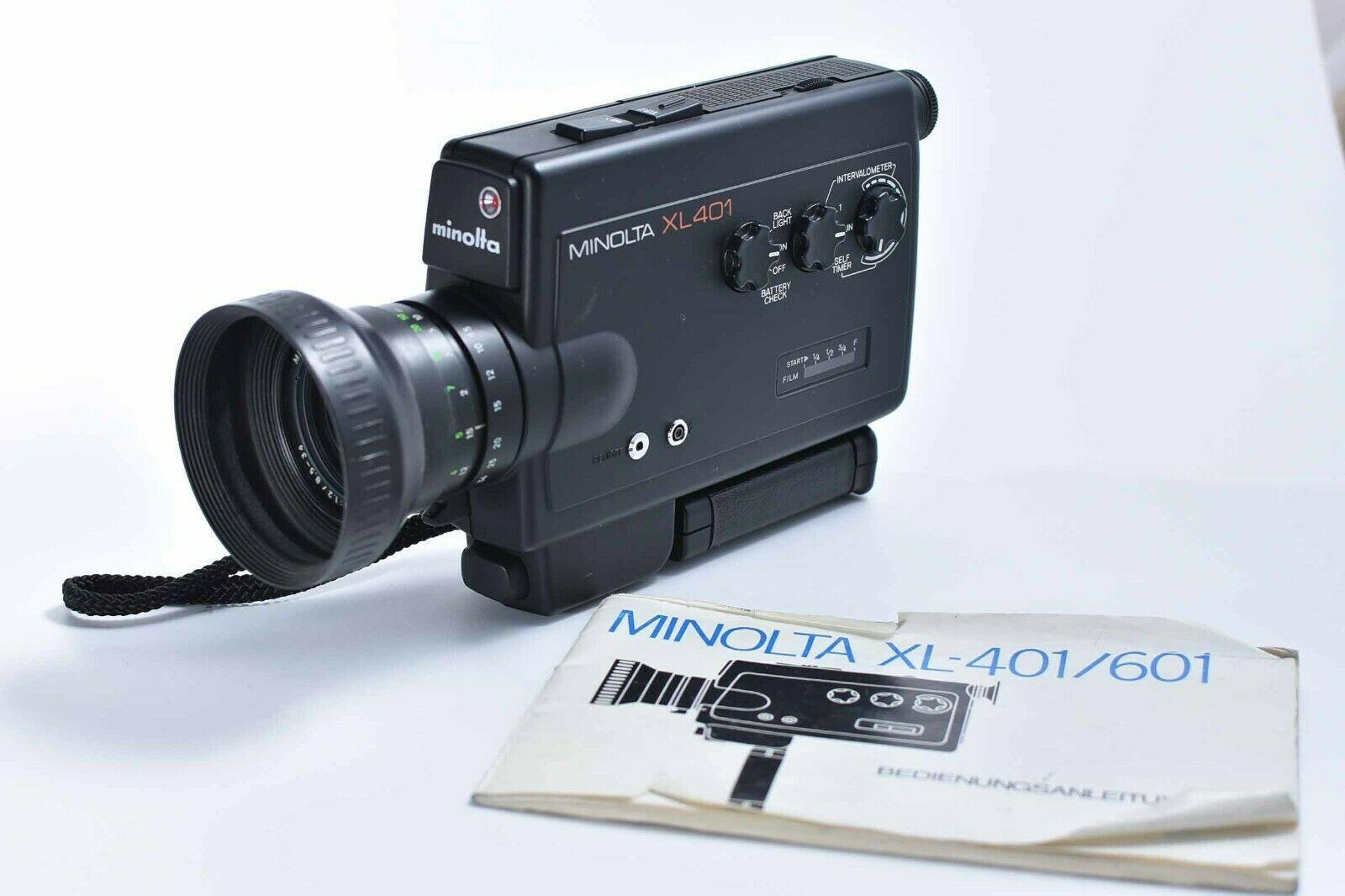 Minolta Xl401 Filmkamera Kamera Super8 Camera Etsy Filmkamera Kamera Kameras