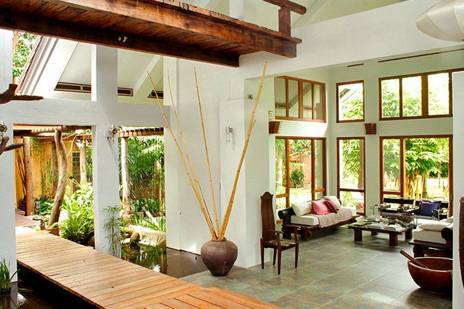 Blurring The Line Between Indoors And Outdoors, This Tropical House  Welcomes Sunlight, Wind,