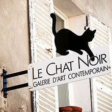 Le Chat Noir Cat Signs Cat Art Painted Signs