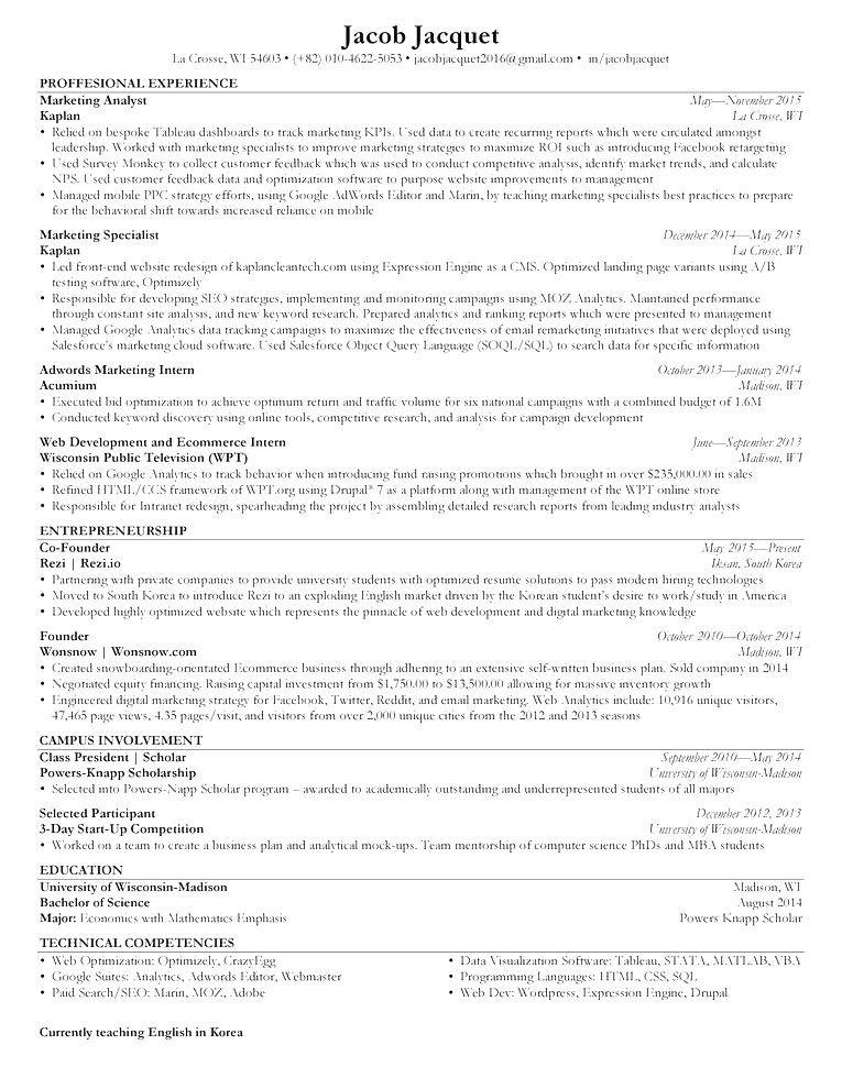 Reddit Resume templates, Resume, Online resume