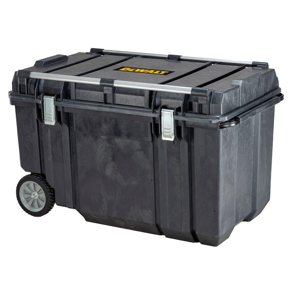 DEWALT Tough Chest 38 in  63 Gal  Mobile Tool Box-DWST38000