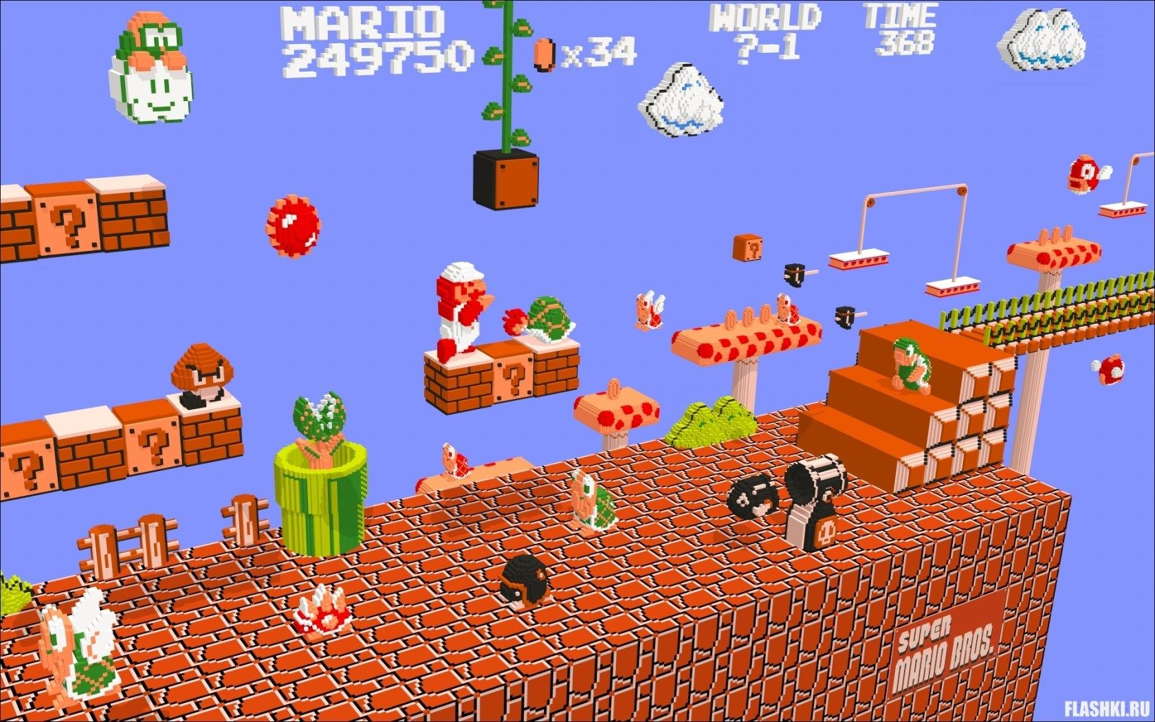 2017-03-08 - hd widescreen wallpapers - super mario bros pic
