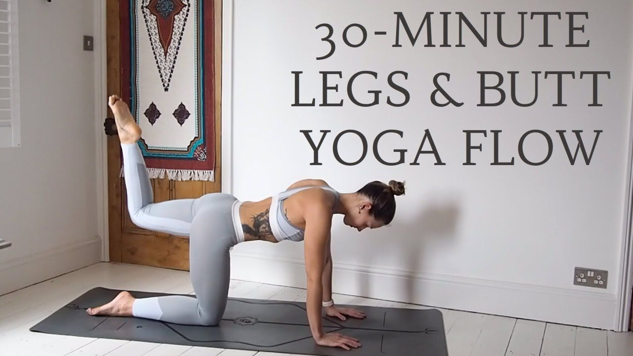 YOGA FOR TONED BUMS | 30-minute all levels flow | CAT MEFFAN | YOGA