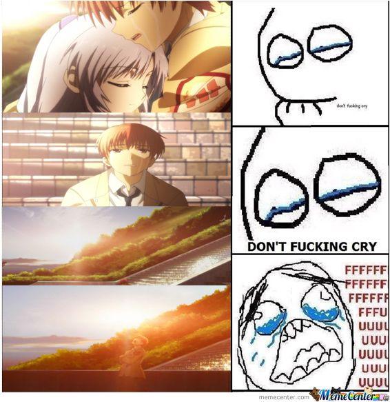 3feac8f17e8a4d8f0c5d5a8c488bd0f3 angel beats meme google search funny feels (anime) pinterest,Angel Beats Meme
