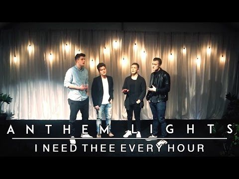 Anthem Lights Sings a Stunning Rendition Of 'I Need Thee