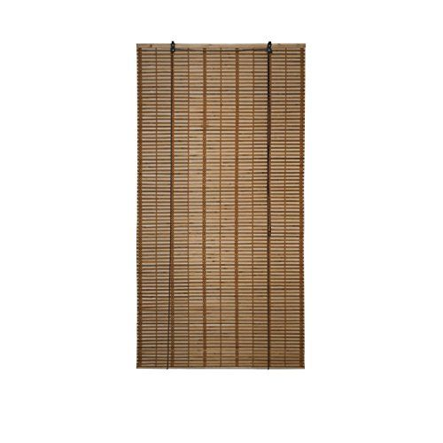 Aleko Bbl36x64br Light Brown Bamboo Midollino Wooden Rol Https