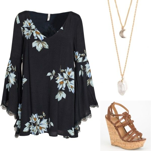 Graduation by mackenziecary on Polyvore featuring polyvore, fashion, style, Free People, Delicious and With Love From CA