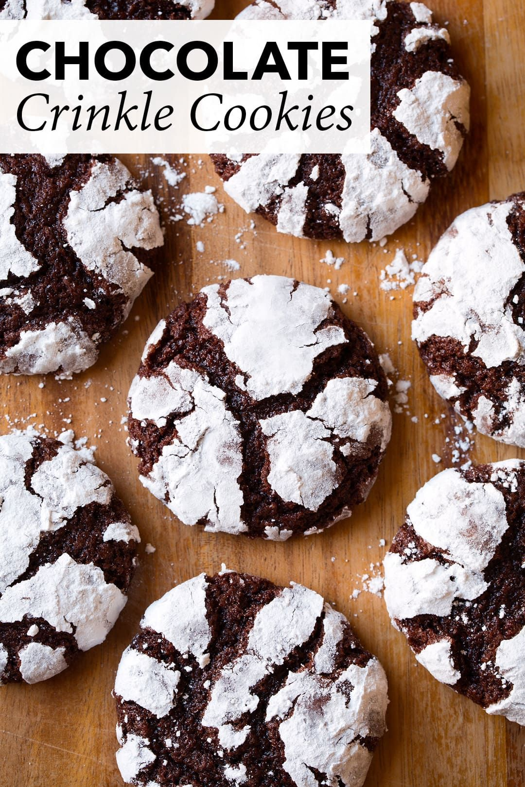 The BEST Chocolate Crinkle Cookies  the cookie we all love Perfectly soft tender and chewy A lot like a brownie but in cookie form  in other words these cookies are sure...
