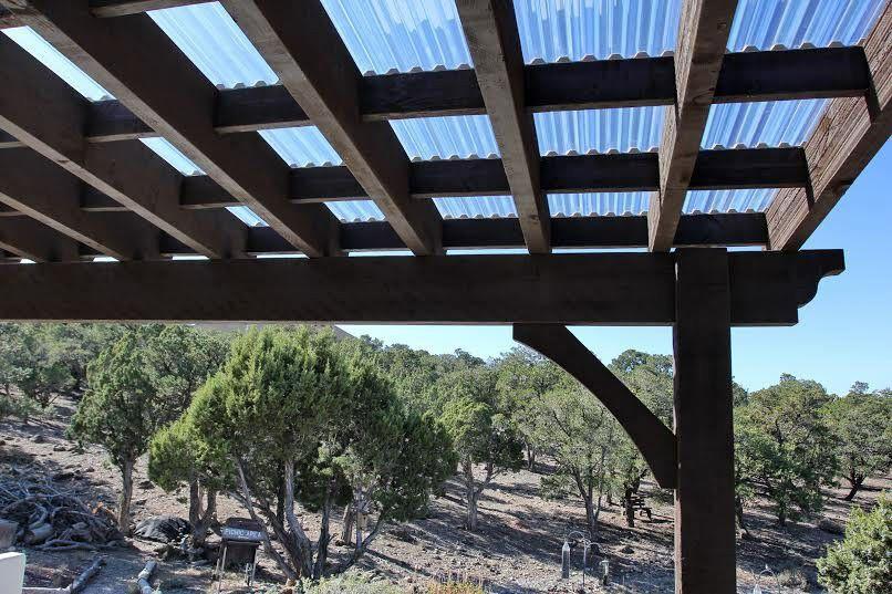 Corrugated Fiberglass Roof For Pergola Outdoor Pergola