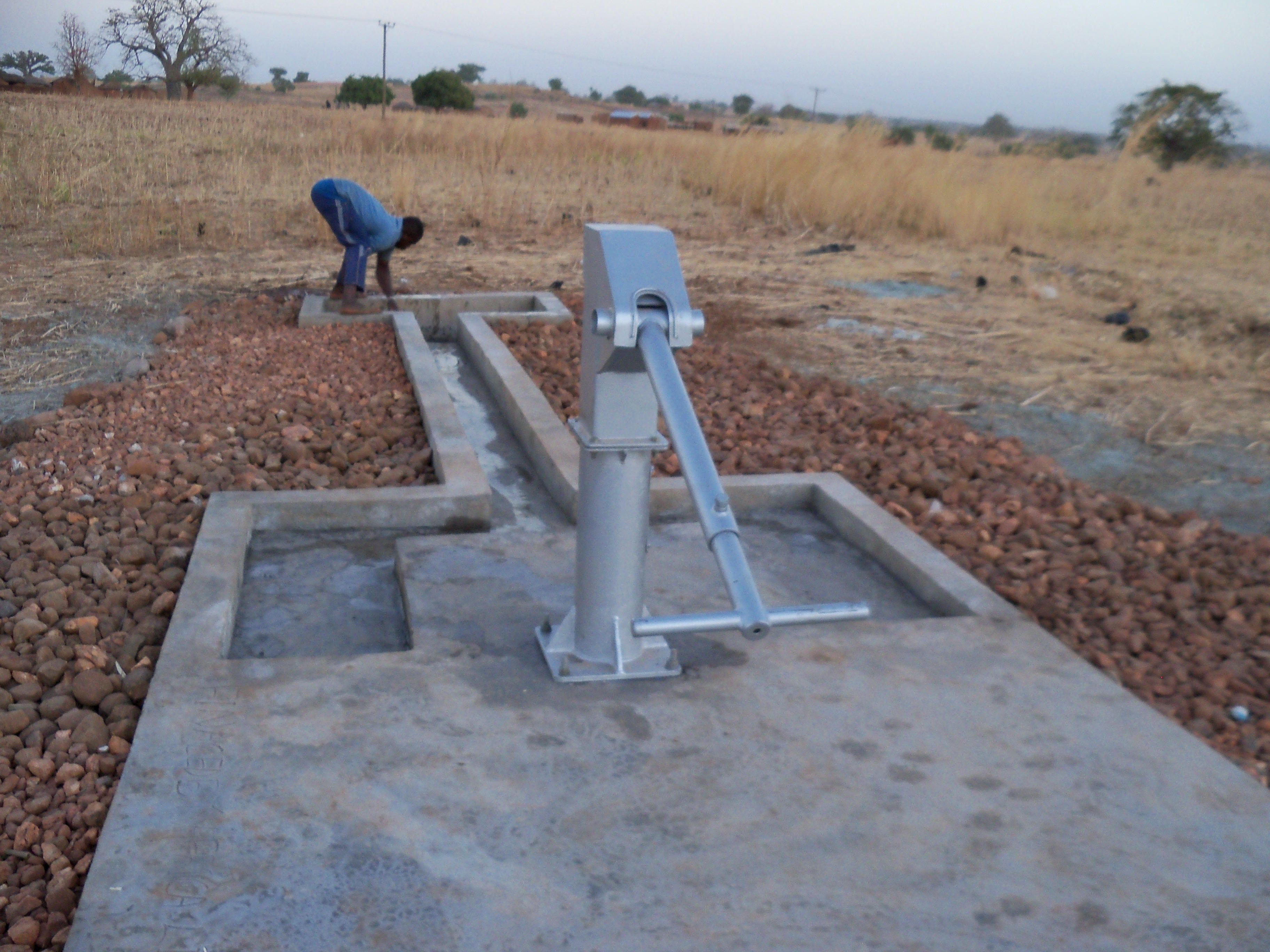 Completed Clean Water . Building Anateem Ne