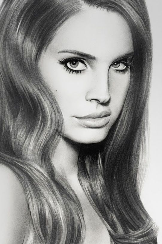 Lana Del Rey Drawing | Lana Del Rey Obsession | Pinterest