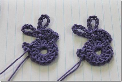 crochet Easter rabbit tutorial