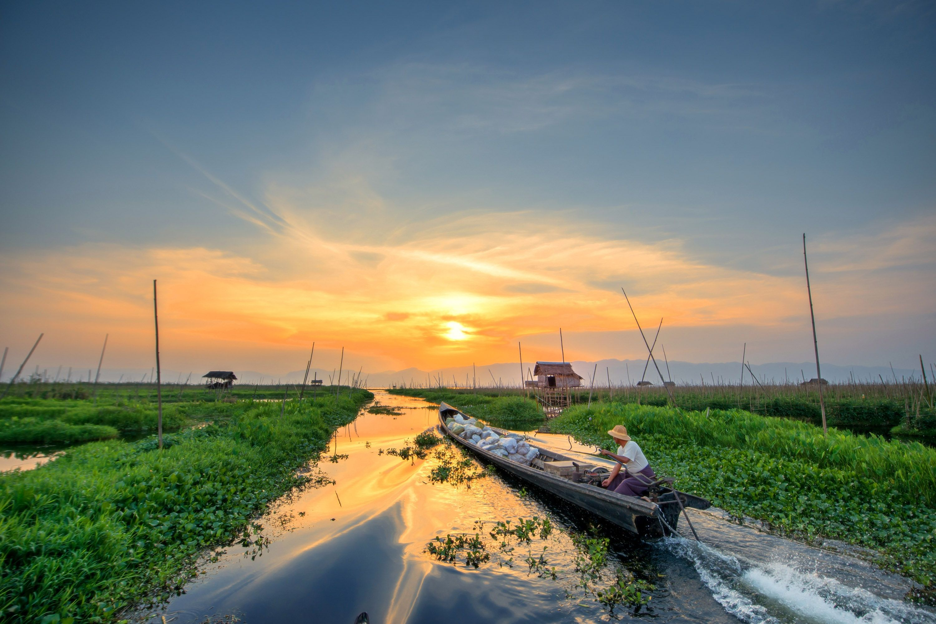 NEW for 2017. Village Trails to Inle Lake, Burma. Walk ...