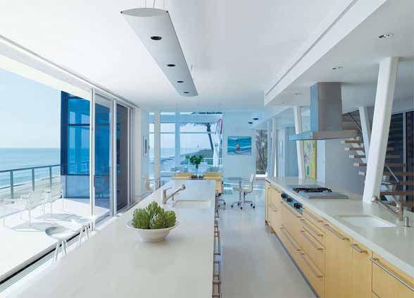 Kitchens with a view Stunning Beach House in Jupiter Island