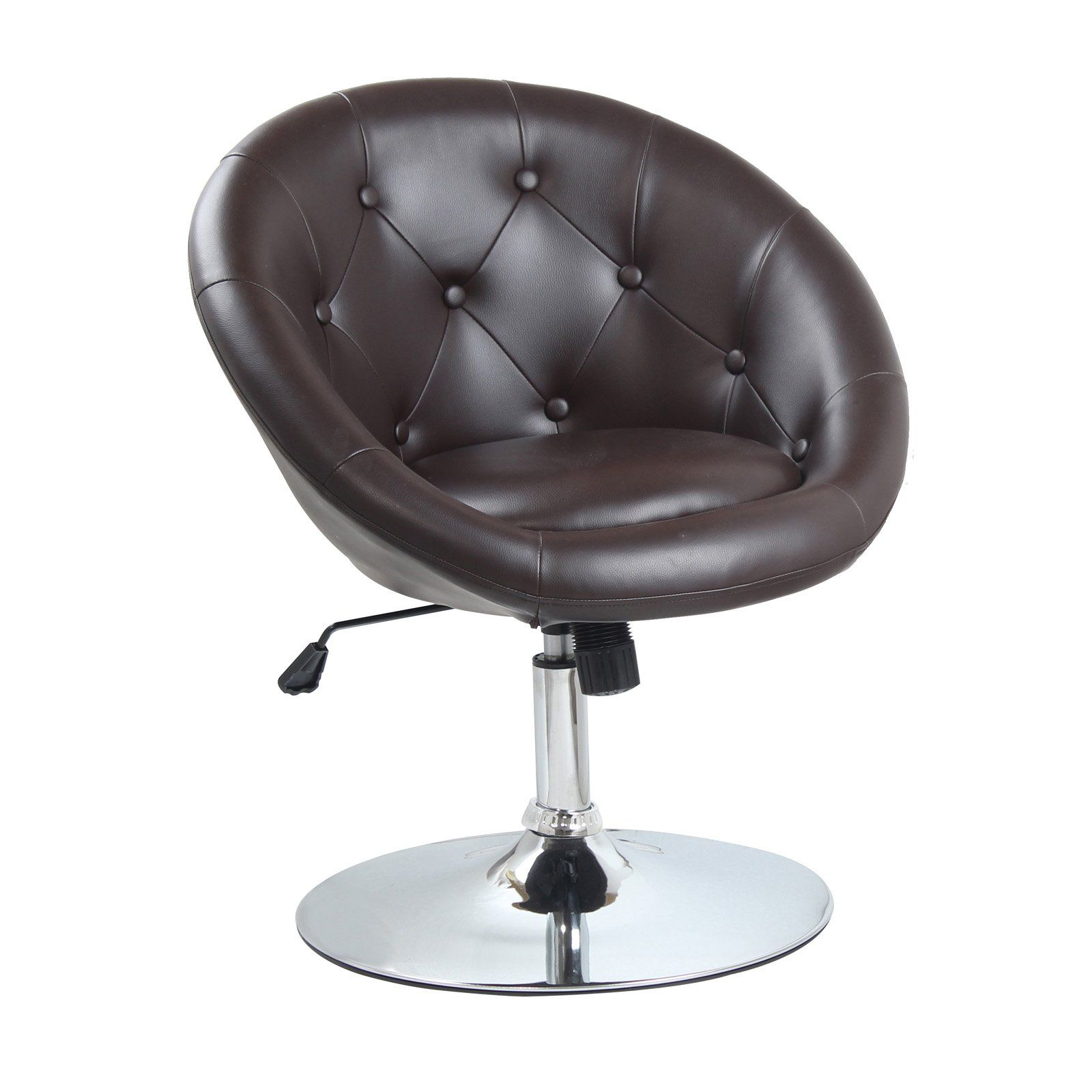 Best Master Furniture Round Back Adjustable Height Swivel Chair