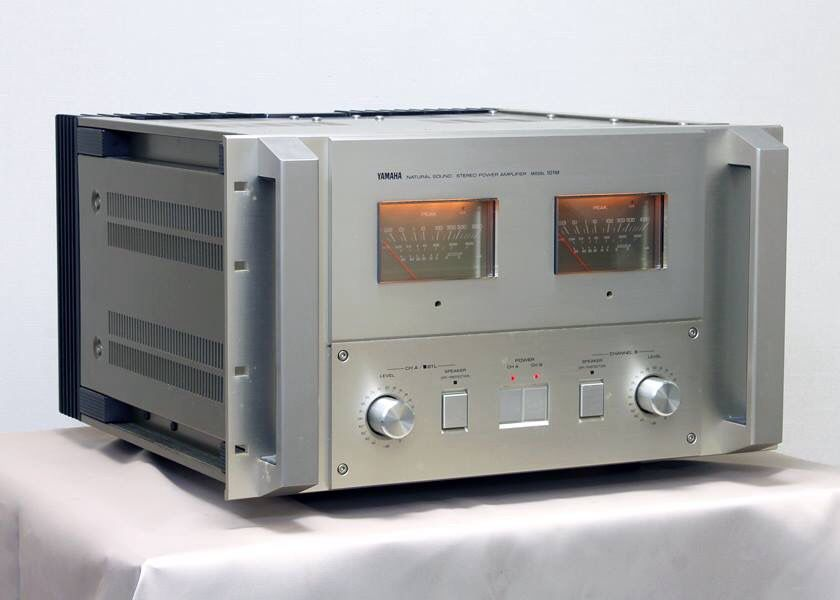 yamaha, 101m, power amp. 500 w. ch. 61 kg 1982   audiophile