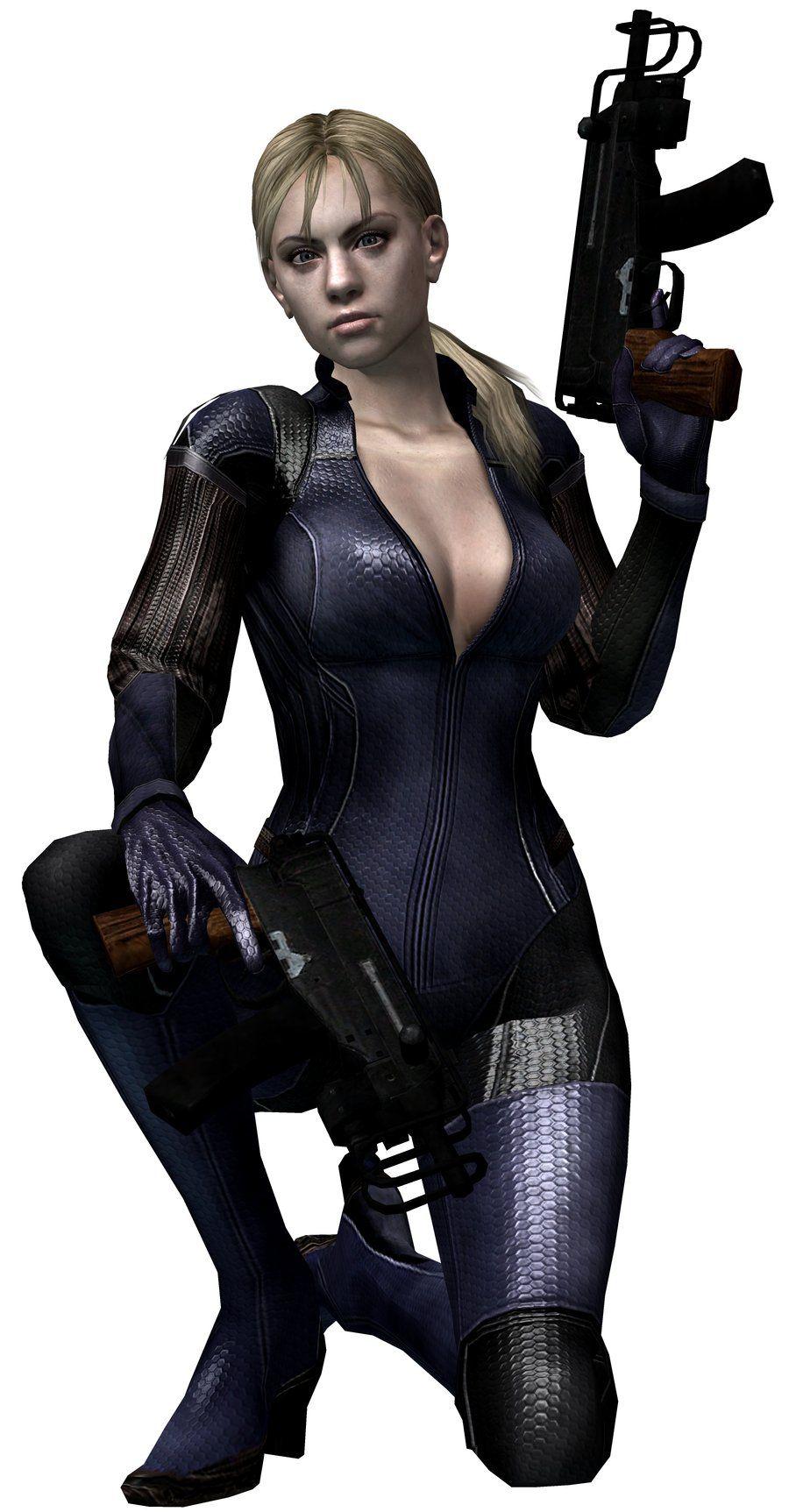 Resident Evil 5 Mercenaries Jill Valentine Battle Suit