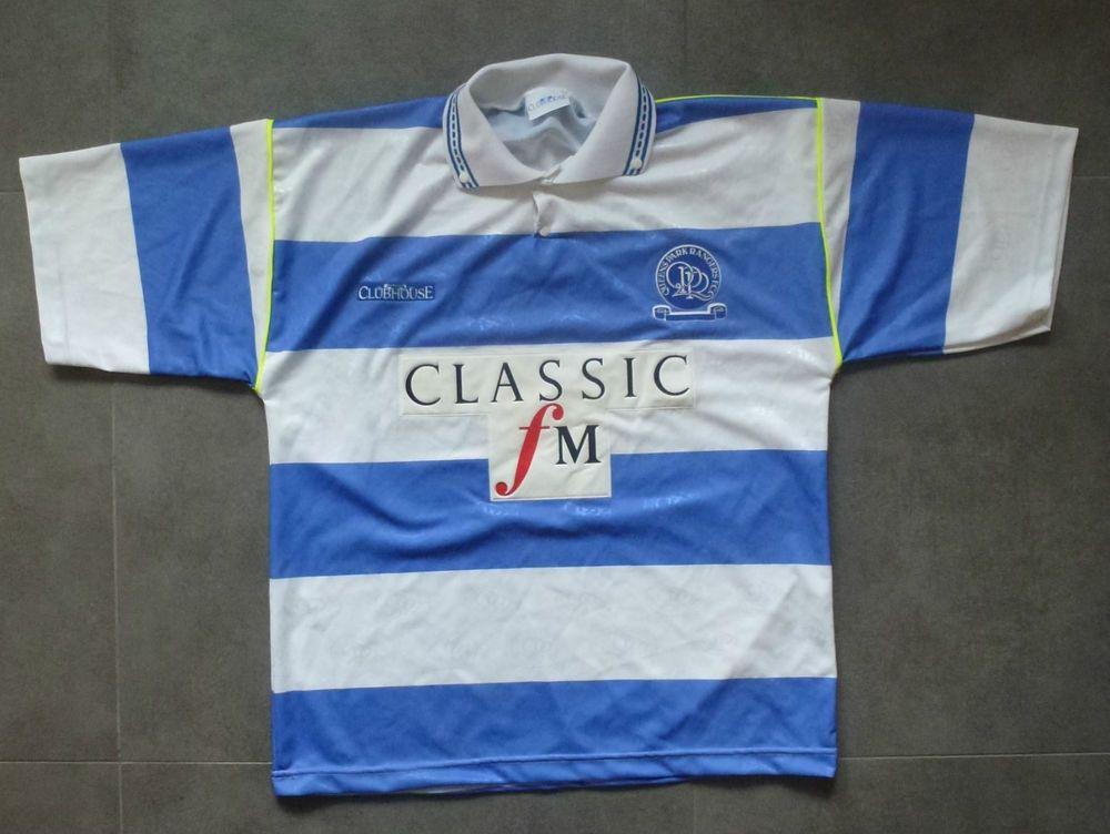 sale retailer 3daf0 a9f44 QPR vintage shirt 92-93 Queens Park Rangers Classic FM | QPR ...