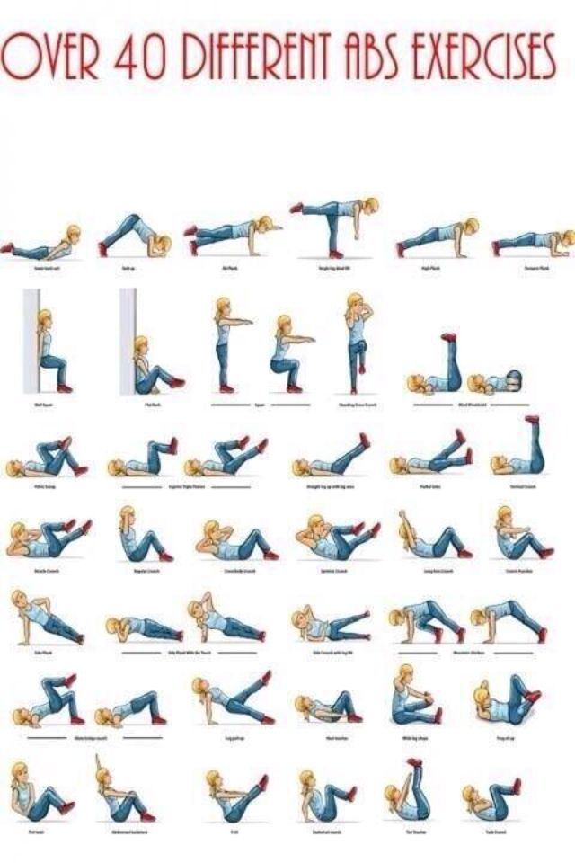 40 ab workouts