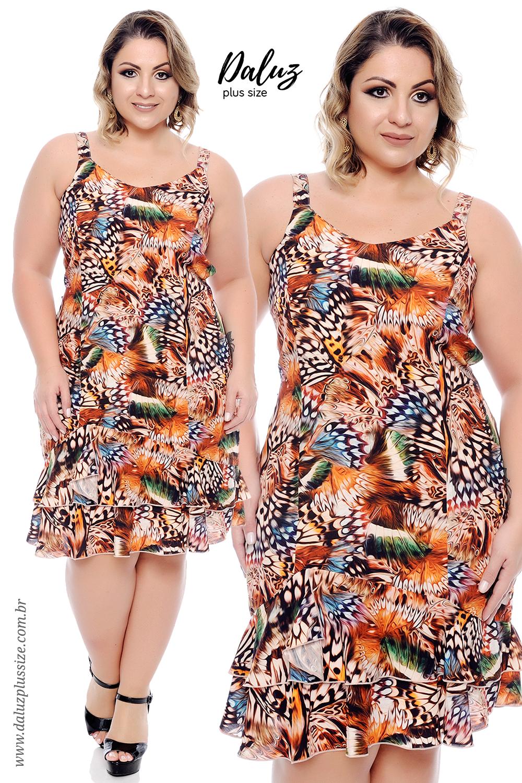19cd6dceda5 Vestido Plus Size Ohana - Coleção Primavera Verão Plus Size -  daluzplussize.com.br