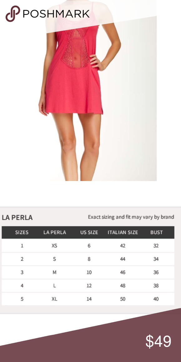 La Perla Aster slip dress Gorgeous detailing. Pure luxury. Treat yourself  at a fraction f9b08ef8e